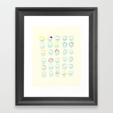 Trombi Framed Art Print
