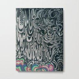 Doodler Metal Print