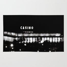 Black & White-Casino Rug