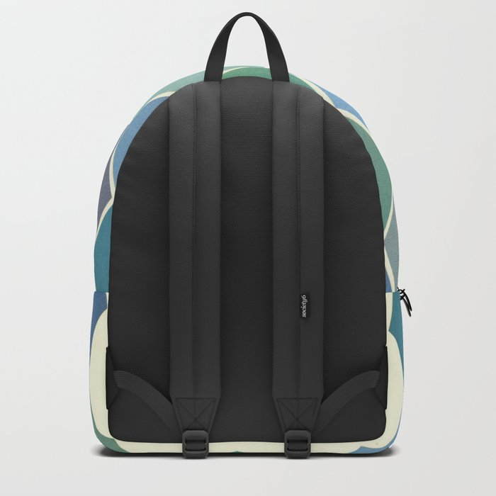 Shades of Blue Backpack