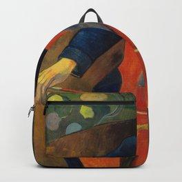 Paul Gauguin - Upaupa Schneklud (The Player Schneklud) (1894) Backpack