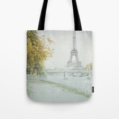 Letters From Cygnes - Paris Tote Bag