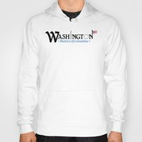 washington dc Hoodies featuring Washington DC by Henderson GDI