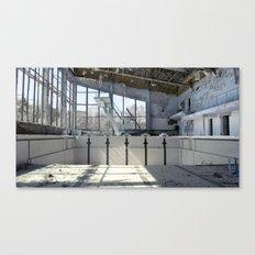 Chernobyl - басейн Canvas Print
