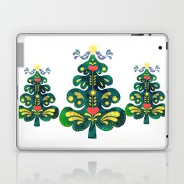 Traditional Scandinavian Folk Art Tree Laptop & iPad Skin