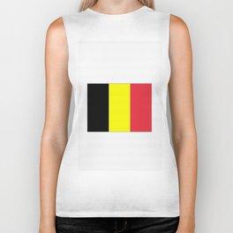 Flag of belgium-belgian,belge,belgique,bruxelles,Tintin,Simenon,Europe,Charleroi,Anvers,Maeterlinck Biker Tank