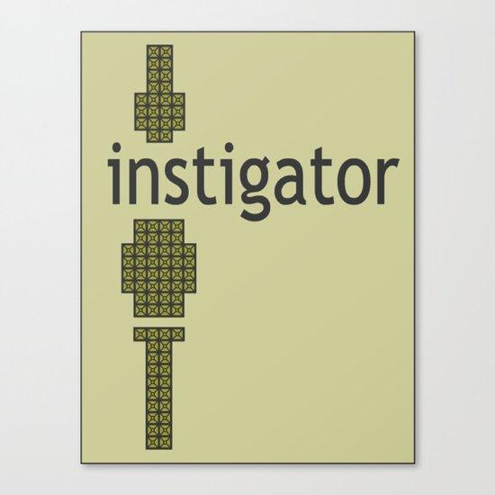 8-Bitstigator Canvas Print