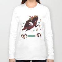 banjo Long Sleeve T-shirts featuring banjo-kazooie by Louis Roskosch