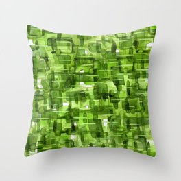 Color Jewels 10E by Kathy Morton Stanion Throw Pillow