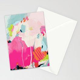 pink sky II Stationery Cards