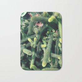 Cactus Print Bath Mat