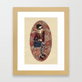 Fabulous Fashionista  Framed Art Print