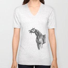 Equine Quietus: The Zombie Horse Unisex V-Neck