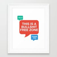 motivational Framed Art Prints featuring Motivational by Motivational