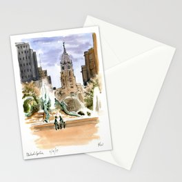 The View from Logan Circle Stationery Cards