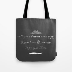 All your dreams Tote Bag