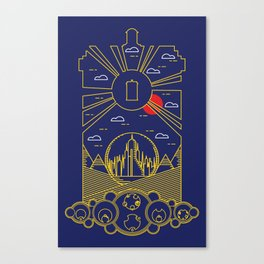 DOCTOR WHO Visit Gallifrey Canvas Print