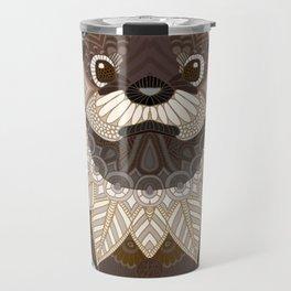 Ornate Otter Travel Mug