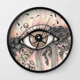 observando la vida Wall Clock