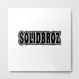 Solidbroz (Logo 2) Metal Print