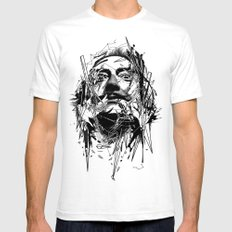 Dali Mens Fitted Tee LARGE White