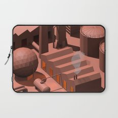 Low Poly Industry Laptop Sleeve