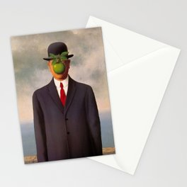 The Son of Man - Rene Magritte Stationery Cards
