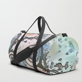 Vintage swirl Duffle Bag