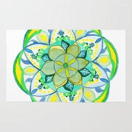 Fairy Garden Mandala Rug