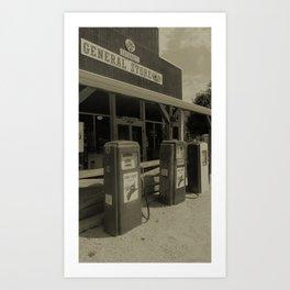 Cataract General Store Art Print