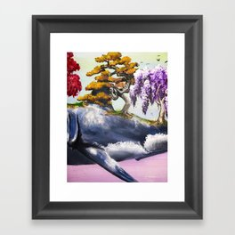 Aspidochelone Part II Framed Art Print