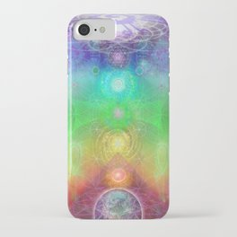 Chakra Activation Geometry Template iPhone Case