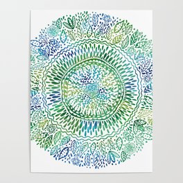 Intricate Nature Poster