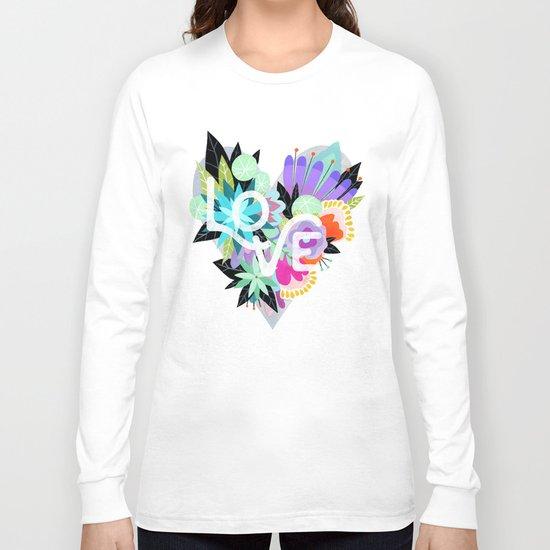 Love Blooms - Rainbow Long Sleeve T-shirt