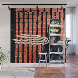 The Fence - Went That-a-way! Wall Mural