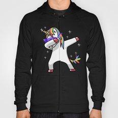 Dabbing Unicorn Shirt Dab Hip Hop Funny Magic Hoody