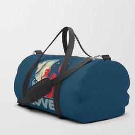 Golden Retriever - Love Duffle Bag