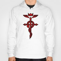 fullmetal Hoodies featuring Fullmetal Alchemist Flamel by R-evolution GFX