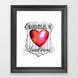 smalltown usa Framed Art Print
