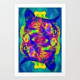 Purple Haze-Lady Jasmine Art Print