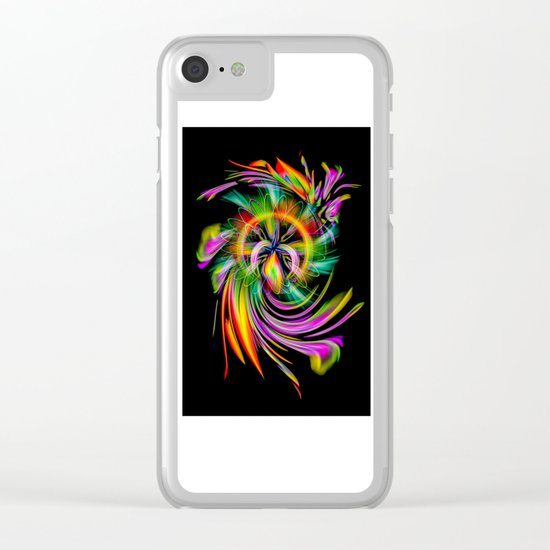 Abstract Perfection 40 Clear iPhone Case