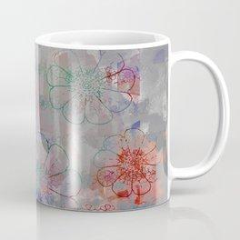 flower pattern color explosion Coffee Mug