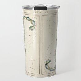 Scorpio Horoscope Vintage Illustration Travel Mug