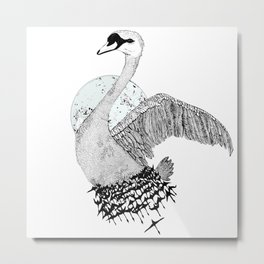 Fly Fly Away Metal Print