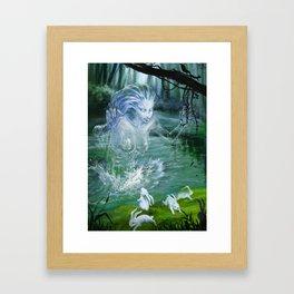 River Ghost Framed Art Print