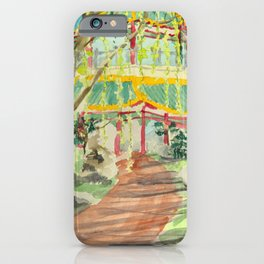 Path to the Pagoda iPhone Case