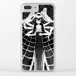 Aracne the spider goodness Clear iPhone Case