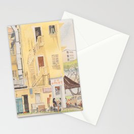 Behind the Shophouses, Changi Road Stationery Cards