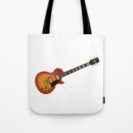 Sunburst Electric Guitar Tote Bag