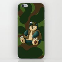 snorlax iPhone & iPod Skins featuring Warlax! by Kashidoodles Creations